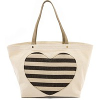 Lovetote Large Heart Shopper