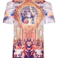RELIGIOUS PRINT T-SHIRT - New This Week - New In - TOPMAN USA