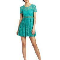 C. Luce Women's Lace Dress