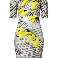 Mary Katrantzou - Silk Jersey Sneaker Print Dress