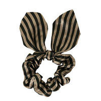 LARGE STRIPE SCRUNCHIE