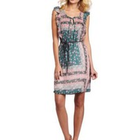 D.E.P.T. Women's Secuctive Silk Dress
