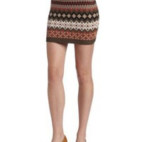 D.E.P.T. Women's Cosy Knit Skirt