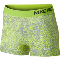 "Nike Women's Pro Core 3"" Printed Compression Shorts"