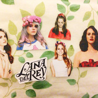 Lana Del Rey Stickers (set of 6)