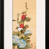 June Framed Giclee Print by Sakai Hoitsu at Art.com