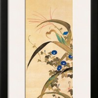July Framed Giclee Print by Sakai Hoitsu at Art.com