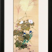 August Framed Giclee Print by Sakai Hoitsu at Art.com