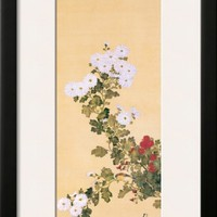 September Framed Giclee Print by Sakai Hoitsu at Art.com