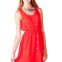 OWASSO BUTTONED DRESS