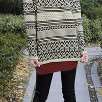sirenlondon — Pattern Up Sweater