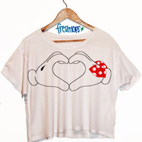 Heart Crop Shirt