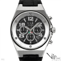 New VIP TIME ITALY Date Chronograph Gentlemens Watch - 			        	For Your Little One: Designer Pieces Shop