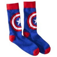Captain America Socks - Red/White/Blue