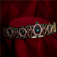 Emerald Tiara - ST4133 by Medieval Collectibles