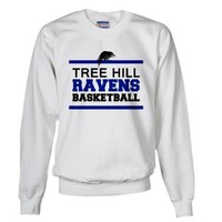 CafePress Tree Hill Ravens Basketball Sweatshirt