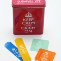 UrbanOutfitters.com &gt; Bandages Keep Calm