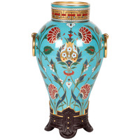 "Christopher Dresser /Minton Aesthetic Movement ""Cloisonné"" Vase 1867"