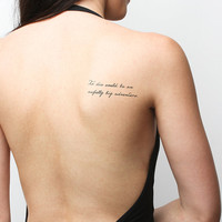 Neverland - Temporary Tattoo (Set of 2)