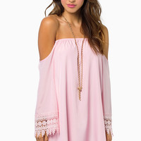 Ophelia Off Shoulder Dress $40