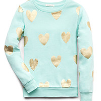 Fancy Hearts Sweatshirt (Kids)
