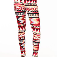 ON FIRE TRIBAL LEGGINGS
