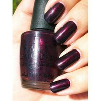 Amazon.com: OPI India Collection, Black Cherry Chutney OPI Nail Polish: Beauty