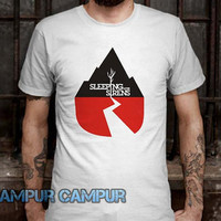 sleeping with sirens album cover Tshirt -CAMPURCAMPUR-