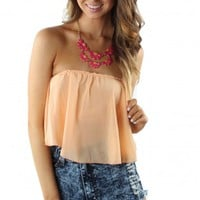 Peaches & Cream Crop Top