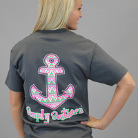 Simply Southern Tee - Aztec Anchor