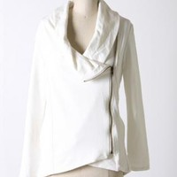 Ivory Side Zip Jacket
