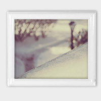 Fine Art Photography print Home Decor Winter Decor Snow Photography Winter Photo