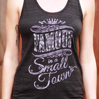 Famous In A Small Town | Tank Top | Country Music Apparel