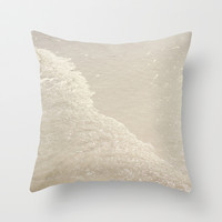 Sparkling Waves Throw Pillow by CMcDonald