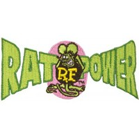 RAT FINK RAT POWER PATCH - Housewares