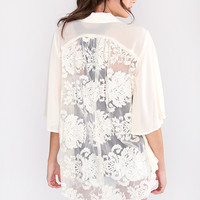 Darling Lace Cardigan