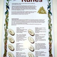 Runes Guide at Every Witch Way Online Shop