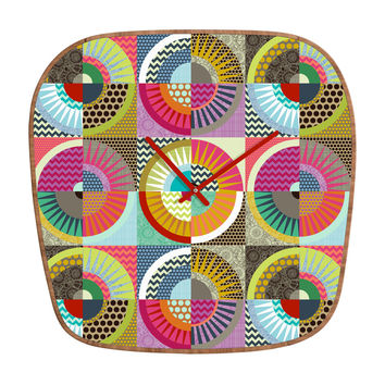 Sharon Turner New York Beauty Modern Clock