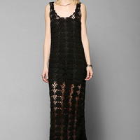 Lovers + Friends Gemma Crochet Maxi Dress - Urban Outfitters