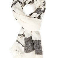 Out At Sea Striped Scarf