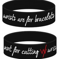 Wrists Are For Bracelets (Black)