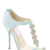 Betsey Johnson Luxe of Love Heel in Turquoise | Mod Retro Vintage Heels | ModCloth.com