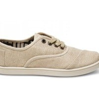 Natural Burlap Youth Cordones