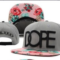 Dope Floral Snapback Hats Classic Men & Women's Designer Flower Snapback Caps and follow me for a spam!!