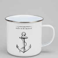 The Adventurer Enamel Mug - Urban Outfitters
