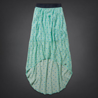 Hollister Natural Rise Maxi Skirt