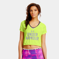 Under Armour Women's UA Bolo Crop T-Shirt