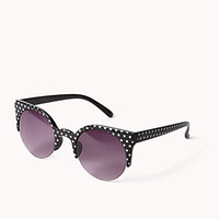 F9436 Round Polka Dot Sunglasses
