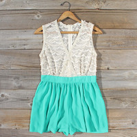 Sugared Clover Romper
