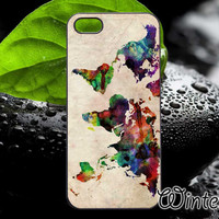 World Map Urban,Accsessories,Case,Cell Phone,iPhone 4/4S,iPhone 5/5S/5C,Samsung Galaxy S3,Samsung Galaxy S4,Rubber-02/01/D-9